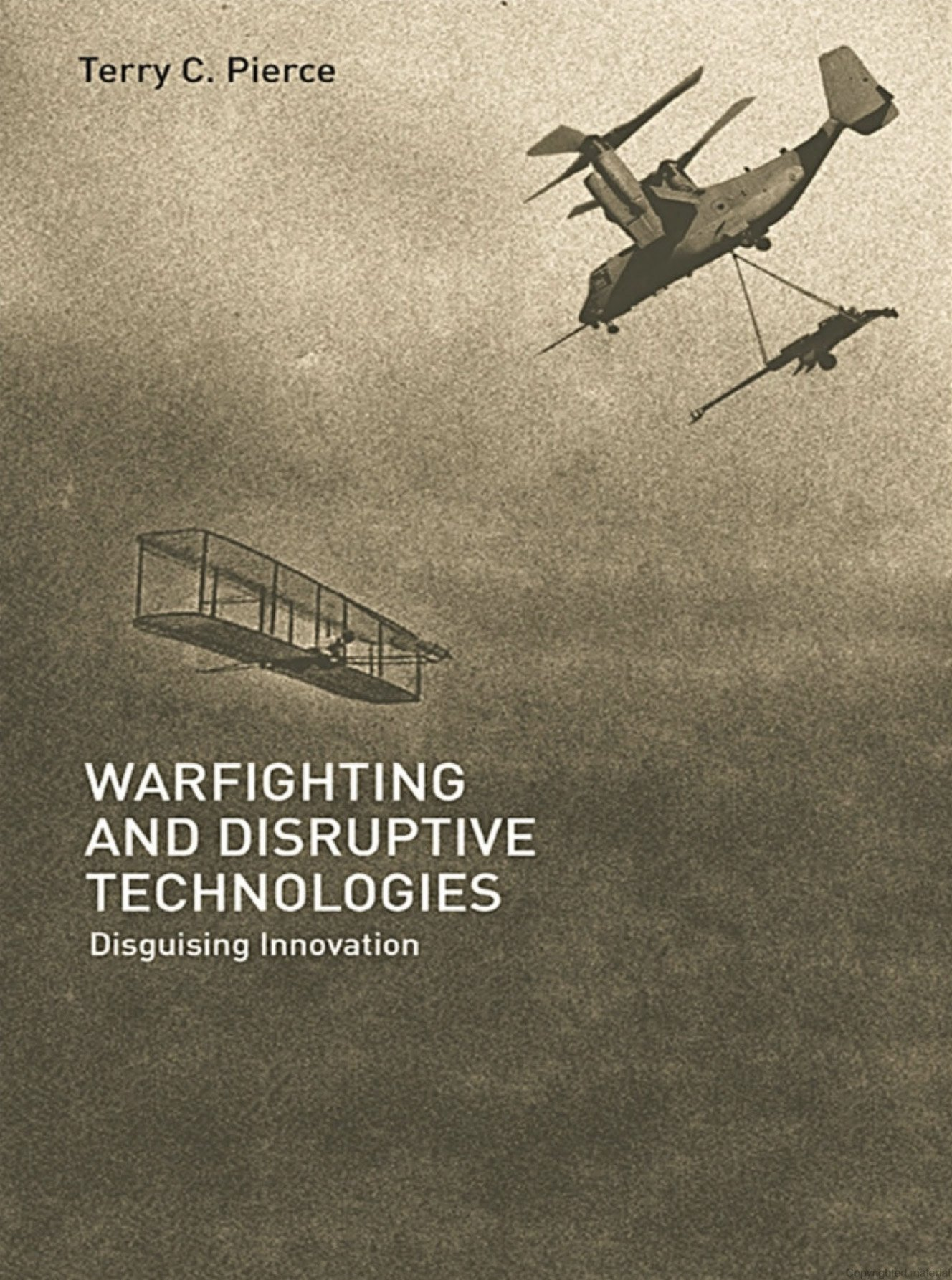 Warfighting and Disruptive Technologies Cover