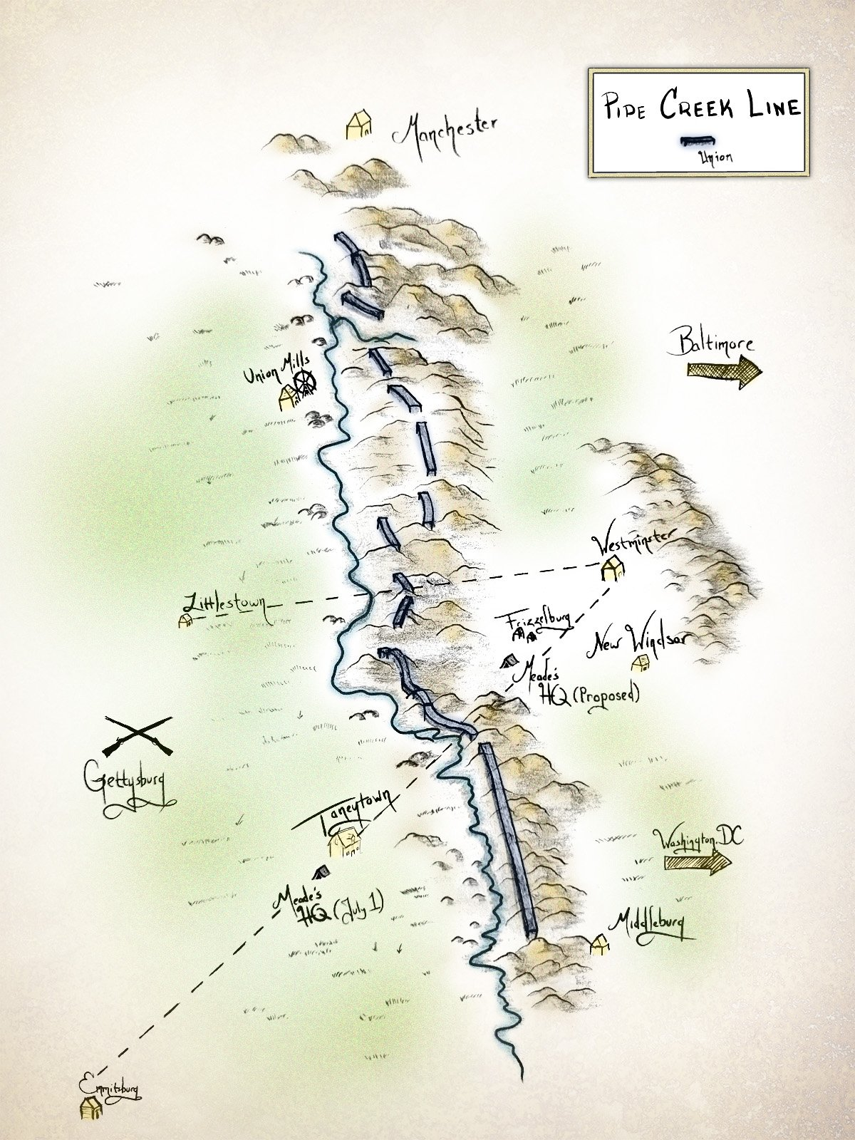 Pipe Creek Line